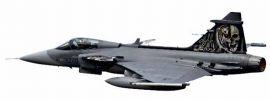 herpa 82MLCZ7208 Saab JAS-39 Czech Air Force  NATO Tiger Meet 2014 Skull Flugzeugmodell 1:72 online kaufen