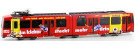 HOBBYTRAIN H14907 Straßenbahn Düwag M6 Kicker BOGESTRA | DC analog | Spur N online kaufen