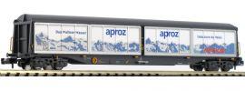 HOBBYTRAIN H23451 Schiebewandwagen Habils aproz/Migros SBB Cargo | Spur N online kaufen