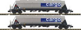 HOBBYTRAIN H23465 Schüttgutwagen-Set 2-tlg. Tagnpps Zucker SBB Cargo | Spur N online kaufen