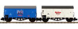 HOBBYTRAIN H24912 2-tlg. Set Oppeln Gmrhs30 Pril/Warsteiner | DB | Spur N online kaufen