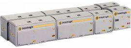 HOBBYTRAIN H9008 Container-Set 8-tlg. Innofreight | Spur N online kaufen