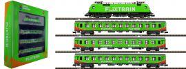 HOBBYTRAIN LC95001S Zugset FLIXTRAIN mit BR182 Taurus | 4-tlg. | digital Sound | Spur N online kaufen