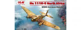 ICM 48265 Heinkel He 111 H-6 Nordafrika Bomber | Flugzeug Bausatz 1:48 online kaufen