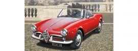 ITALERI 3653 Alfa Romeo Giulietta Spider 1300 | Auto Bausatz 1:24 online kaufen