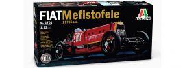 ITALERI 4701 FIAT Mefistofele 21706c.c. Auto Bausatz 1:12 online kaufen