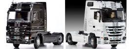 ITALERI 3884 Mercedes-Benz Actros MP3 White Liner / Black Liner LKW Bausatz 1:24 online kaufen