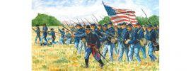 ITALERI 6177 Union Infantry Sezessionskrieg | 50 Figuren | Militär Bausatz 1:72 online kaufen