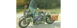 ITALERI 7401 U.S. Army Harley-Davidson WLA 750 | Militaria Bausatz 1:9 online kaufen