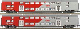 Jägerndorfer 60203 Doppelstockwagen-Set 2-tlg. ÖBB City Shuttle | Spur N online kaufen