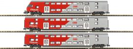 Jägerndorfer 60303 Doppelstockwagen-Set 3-tlg. ÖBB City Shuttle | Spur N online kaufen