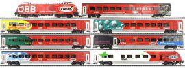 Jägerndorfer 70900 Zug-Set Railjet 8-tlg. ÖBB | EM 2016 Sonderserie | DCC | Spur H0 online kaufen