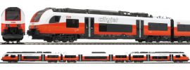 Jägerndorfer JC17600 Zugpackung Cityjet Desiro 3-tlg. ML 4746.019 ÖBB | AC-Digital | Spur H0 online kaufen