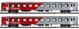 Jägerndorfer JC60240 2tlg. Set Reisezugwagen City Shuttle | ÖBB | Spur N online kaufen