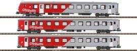 Jägerndorfer 60330 3-tlg. Set Inlandsreisezugwagen | ÖBB | Spur N online kaufen