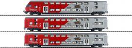 Jägerndorfer 76602 3tlg. Set DoSto City Shuttle Wiesel + Steuerwagen ÖBB | DC | Spur H0 online kaufen