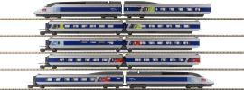 KATO K10924 Zugset 10-tlg. TGV Reseau | SNCF | analog | Spur N online kaufen