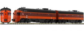 KATO 701060430 EMD FP7A und F7B Lokomotiven-Set | Milwaukee | analog | Spur N online kaufen