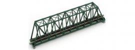 KATO 7077201 Kastenbrücke mit Gleis 248mm | grün | UNITRACK | Spur N online kaufen