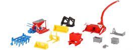 kibri 10910 Landwirtschaftliches Geräte-Set Bausatz Spur H0 online kaufen