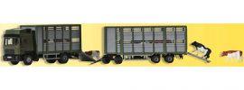 Kibri 12248 Viehtransporter mit Anhänger | LKW-Modell 1:87 | Spur H0 online kaufen