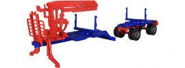kibri 12251 DOLL Langholzaufbau mit Nachläufer Bausatz Spur H0 online kaufen