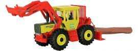 kibri 12254 MB Trac mit Frontlader und Seilwinde Forst Bausatz Spur H0 online kaufen