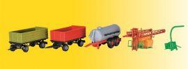 kibri 12996 Landwirtschaftliches Set Bausatz Spur H0 online kaufen