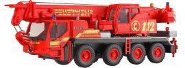 kibri 13041 Liebherr LTM 1050/4 Feuerwehr Kranwagen Bausatz Spur H0 online kaufen