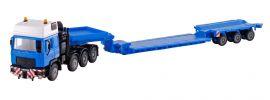 kibri 13561 MAN 4achs Schwerlastzugmschine mit Scheuerle Prismenroller Felbermayr Bausatz 1:87 online kaufen