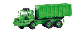 kibri 14020 KAELBLE GMEINDER Knicklenker Abrollfahrzeug mit Container Bausatz 1:87 online kaufen