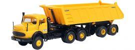 kibri 14025 MB LAK 2624 mit Meiller Sattelkipper Bausatz LKW-Modell 1:87 online kaufen