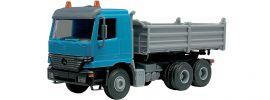 kibri 14070 MB Actros BS Muldenkipper Bausatz Spur H0 online kaufen