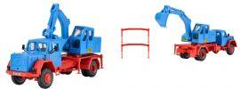 kibri 14130 Magirus Eckhauber mit Baggeraufbau Bausatz 1:87 online kaufen