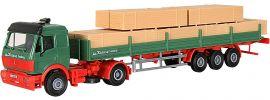 kibri 14641 MB SK Zugmaschine mit Pritsche und Holzladung Bausatz Spur H0 online kaufen