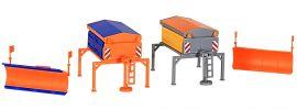 kibri 15013 Streugeräteaufbau und Schneepflug, je 2 Stück Bausatz Spur H0 online kaufen