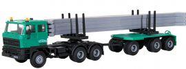 kibri 15209 DAF 2800 Rungenhängerzug  mit Betonteilen SchwarzBau Bausatz 1:87 online kaufen