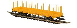 kibri 16200 Niederbordwagen 2achs gelb Bausatz 1:87 online kaufen