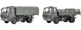 kibri 18051 MB 1017 Pritschenwagen Bundeswehr 2 Stück | Bausatz Spur H0 online kaufen