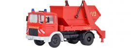 kibri 18201 Feuerwehr MAN 2-achs Absetzkipper | Bausatz Spur H0 online kaufen
