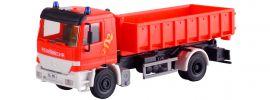 kibri 18249 Feuerwehr MB Actros 2-achs mit Abrollcontainer | Bausatz Spur H0 online kaufen