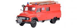 kibri 18255 Feuerwehr FORD FK 2500 | Bausatz Spur H0 online kaufen