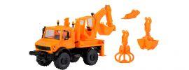 kibri 18480 Unimog mit Aufbaubagger Bausatz 1:87 online kaufen