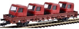 kibri 26253 Niederbordwagen Kls mit Führerhäusern DB | DC | Spur H0 online kaufen