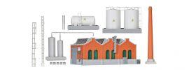 kibri 36764 Shedhalle mit Schornstein und Tanklager Bausatz 1:220 online kaufen