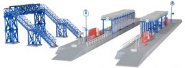 kibri 37756 S-Bahn Haltestelle mit Steg Goldberg | Bausatz Spur N online kaufen