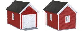 kibri 38150 Deko-Set Gartenhaus/Garage Bausatz Gebäude Spur H0 online kaufen