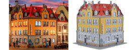 kibri 38350 Eckhaus inkl. Hausbeleuchtung-Startset   Gebäude Bausatz Spur H0 online kaufen