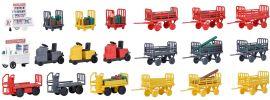 kibri 38646 Deko-Set Gepäckwagen | Bausatz Spur H0 online kaufen