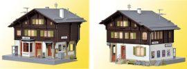 kibri 39497  Bahnhof Litzirüti inkl. Beleuchtungsset Bausatz Spur H0 online kaufen